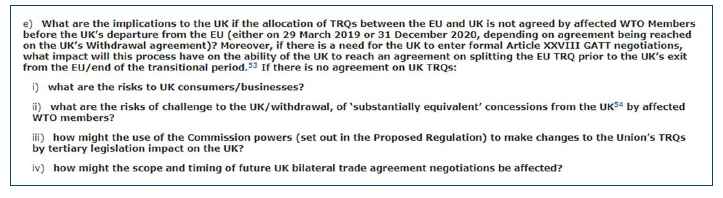 The Uks First International Trade Negotiation Agriculture At The
